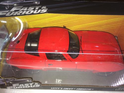 rápidos y furiosos letty's chevy corvette jada escala 1:24