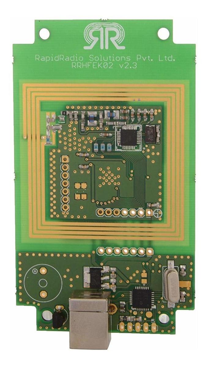 Rapidradio Hf Rfid Reader Con 1 Cable Usb De La Tarjeta Y 1