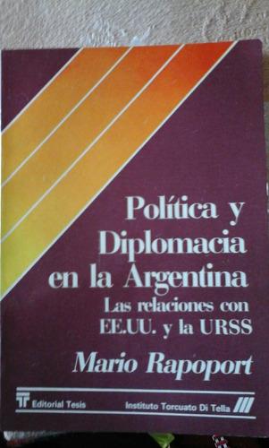 rapoport mario. politica y democracia en la argentina