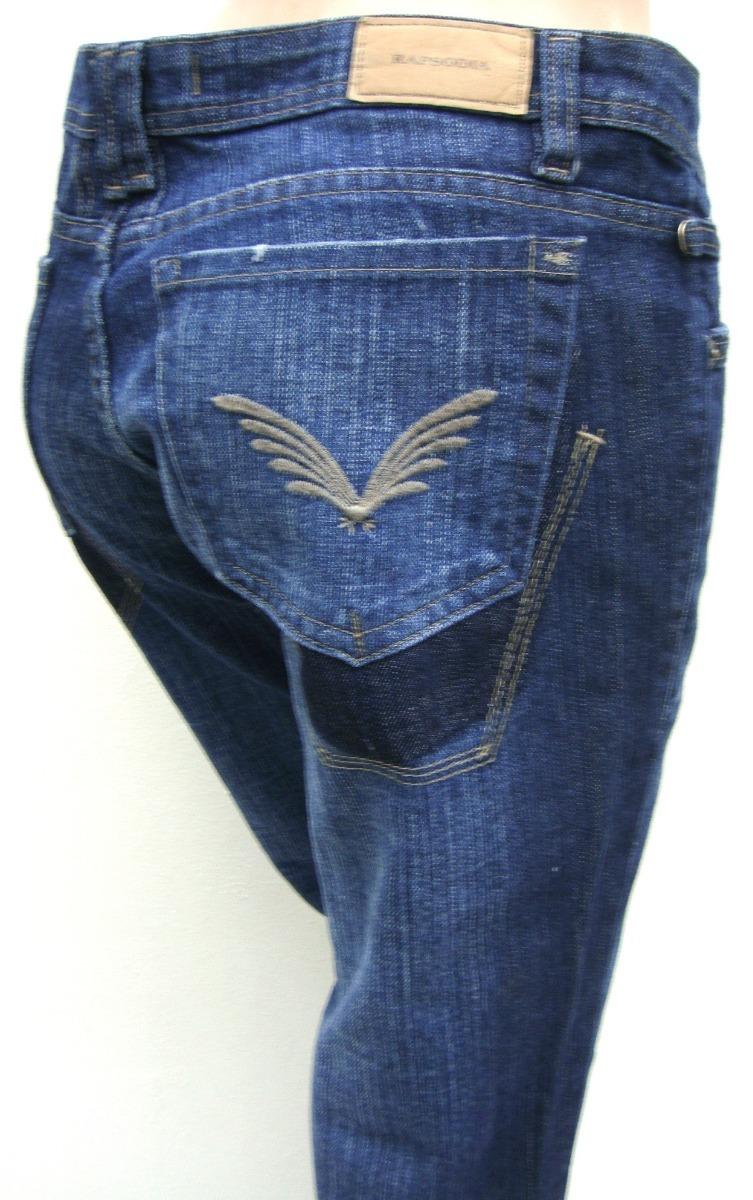 Rapsodia Pantalon Jeans T28 Elastizado Azul Ana Mar