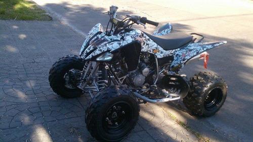 raptor 250r con mas de $15.000 en accesorios.!!!