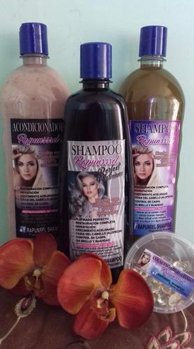 rapunsssel  3 shampoo más colágeno