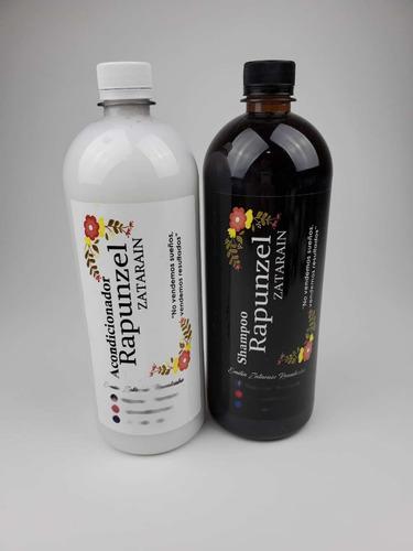 rapunzel zatarain,shampoo y acondicionador