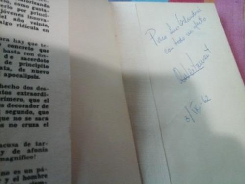 raquel weitzman. poemas. 1962. firmado por autora.