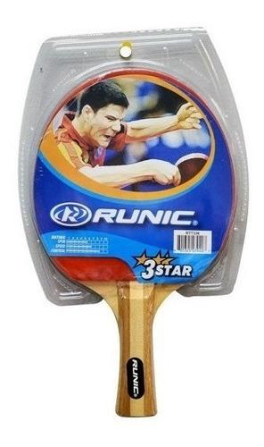 raqueta  de ping pong classic marca runic  l3o