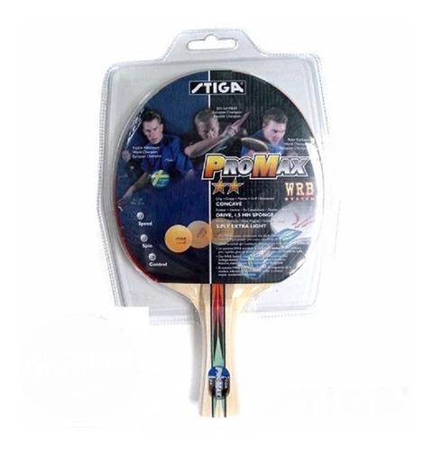 raqueta de ping pong stiga pro max ¡envio gratis!