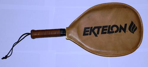 raqueta de racquet antigua ektelon vintage