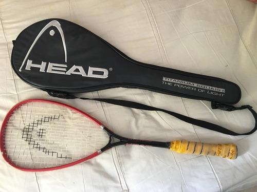 raqueta de squash head