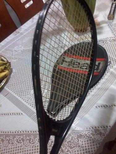raqueta de tenis head con su forro