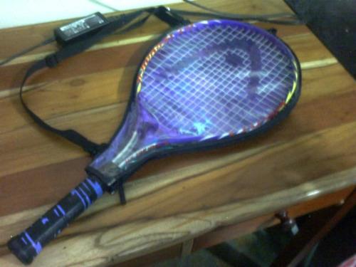 raqueta de tenis head. junior (infantil) ti.agassi 25