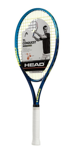 raqueta de tenis head ref t.i conquest 4 1/4  nano titanium