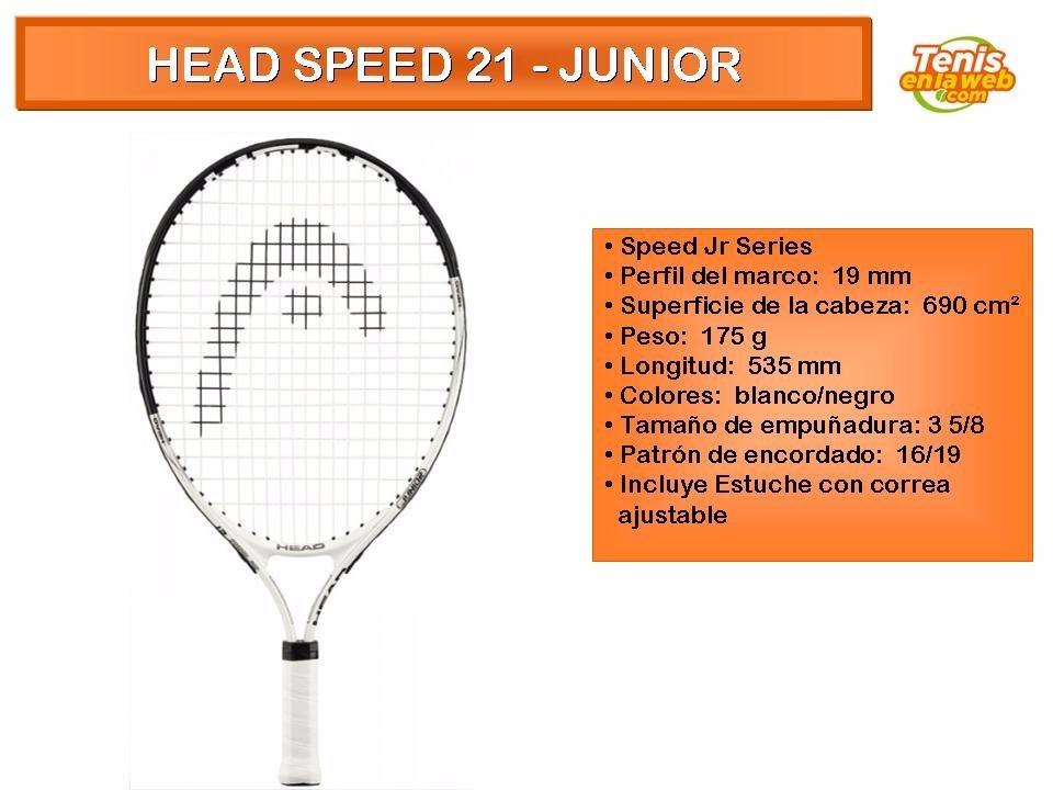 d1b2f0511c556 raqueta de tenis head speed 21 junior. Cargando zoom.