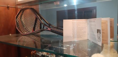 raqueta de tenis mac gregor bergelin long string 1986