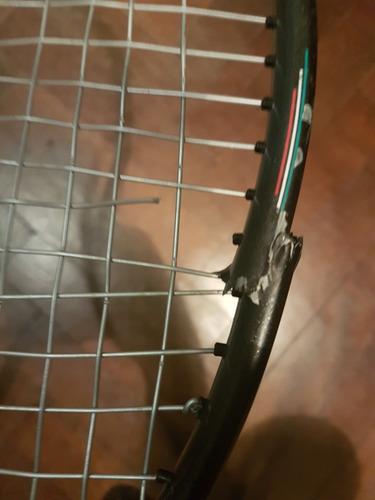 raqueta de tenis prince cts approach 110 quebrada