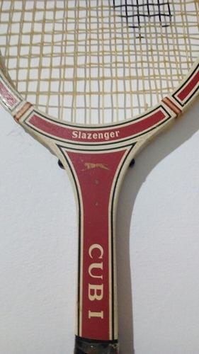 raqueta de tenis slazenger