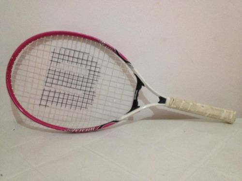 raqueta de tenis wilson  venus/serena 25