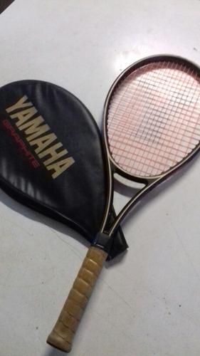raqueta de tenis yamaha graphite hi flex 3 con funda origina