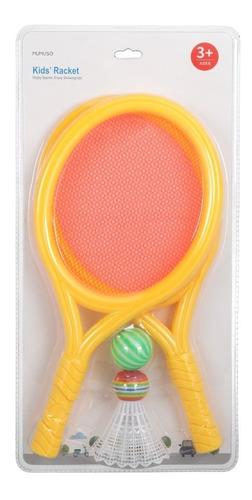 raqueta de tennis mumuso infantil