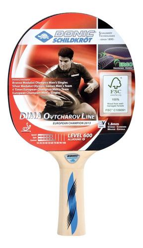raqueta donic 600 de ping pong - tenis de mesa
