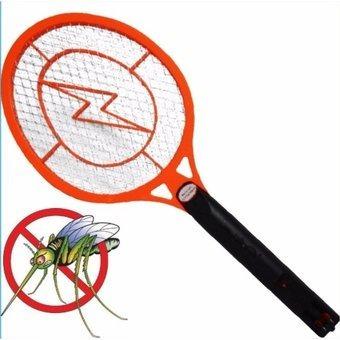 raqueta electrica mata zancudos, moscas, recargable, chacao,