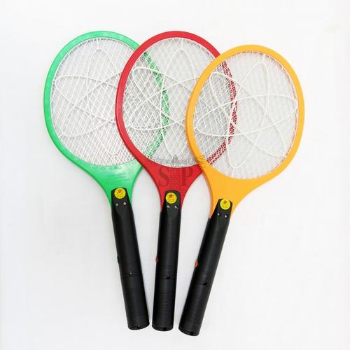 raqueta eléctrica recargable mata zancudos moscas mosquito!!