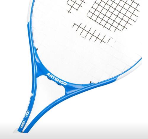 raqueta europea azul de frontenis