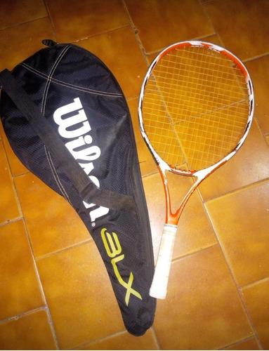 raqueta head más estuche wilson blx... poco uso!!!