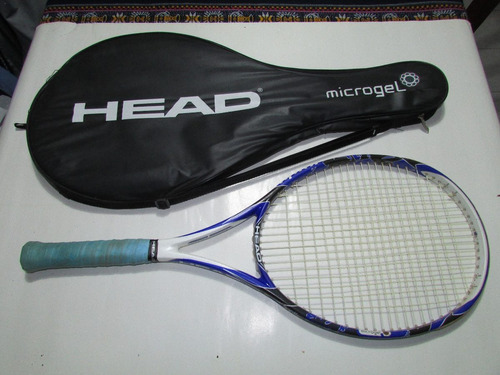 raqueta head microgel raptor como nueva!