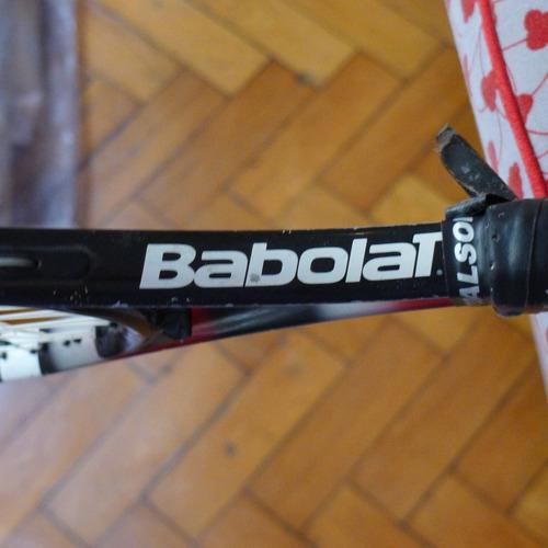 raqueta junior babolat  ball fighter 140 usada