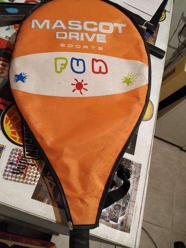 raqueta mascot drive infantil/niños usada.