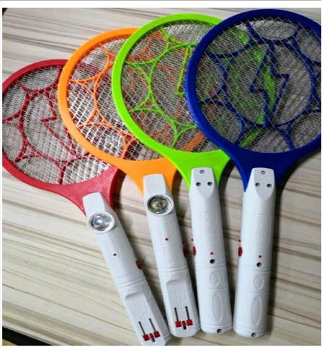 raqueta mata moscas 2 en 1