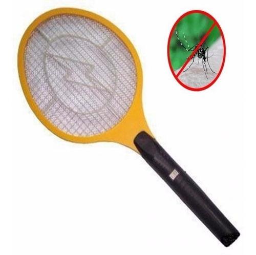 raqueta paleta repelente mata mosca mosquito zika 220 pila