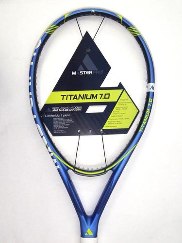 raqueta para frontenis master pro 7.0 titanium