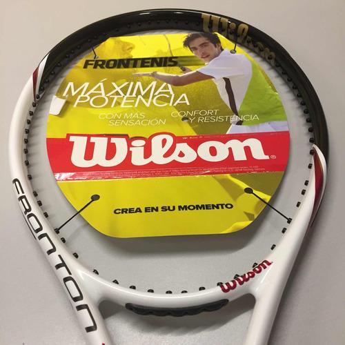 raqueta para frontenis wilson tour rd !envío gratis!