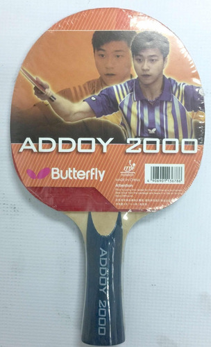 raqueta pin pon butterfly addoy 2000 sy co20