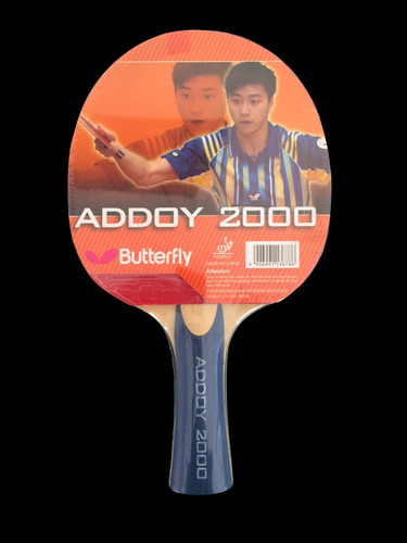 raqueta ping pong butterfly addoy 2000