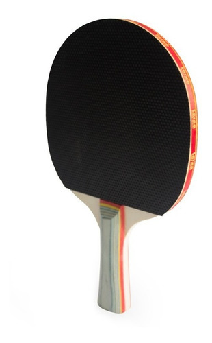 raqueta ping pong spin pro para principiantes madera