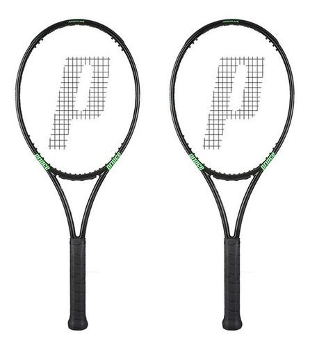 raqueta prince textreme o3 phantom 100 pack x2 * precio=usa