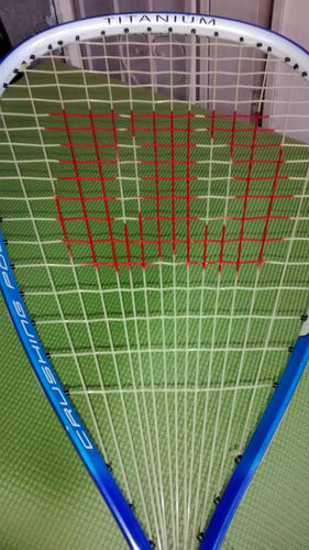 raqueta raquetball marca wilson (titanium)