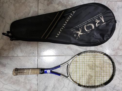 raqueta rox titanium premier 5.8