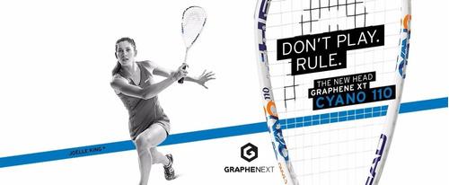 raqueta squash head graphene xt cyano 110