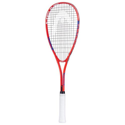 raqueta squash spark team head paquete de bolas y lentes