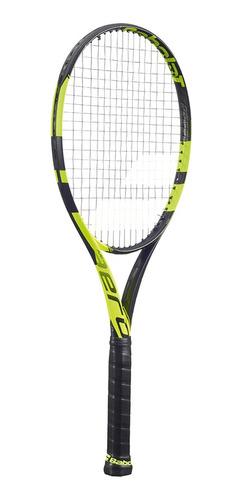 raqueta tenis babolat pure aero amarillo/negro