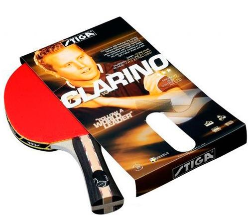 raqueta tenis de mesa clarino cristal 3 star stiga