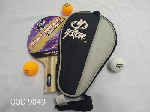 raqueta tenis de mesa // ping-pong