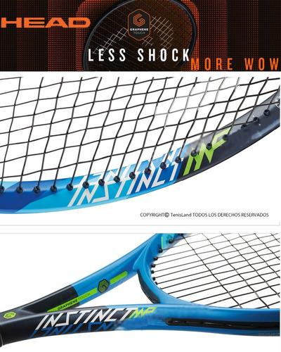 raqueta tenis head touch instinct mp loc. no.1 arg.