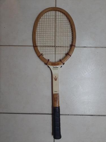 raqueta vintage wilson jack kramer inmaculada..
