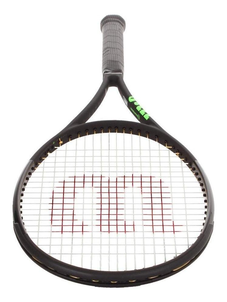Raqueta Wilson Blade 98 16x19 Countervail Cv Tenis 98 Black