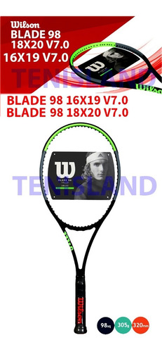 raqueta wilson blx blade 98  local no.1 argentina