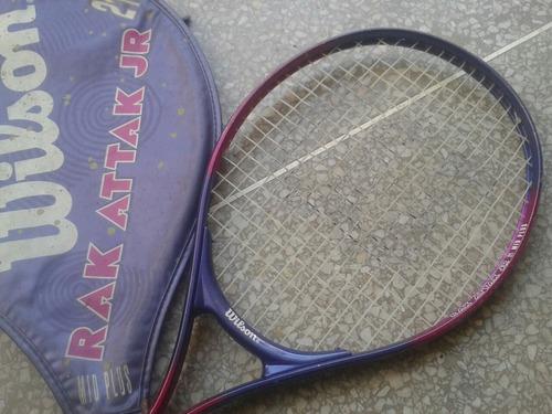 raqueta wilson con forro